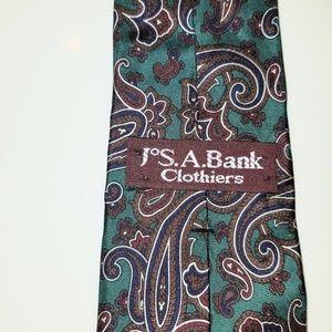 Jos. A. Bank Paisley tie